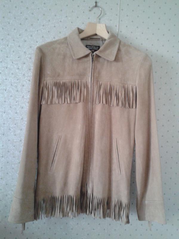 Куртка , женская, замшевая , ralph lauren , оригинал