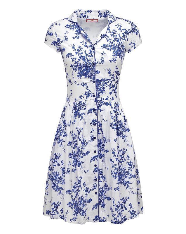 Очень красивое натуральное летнее платье большого размера - Фото 2