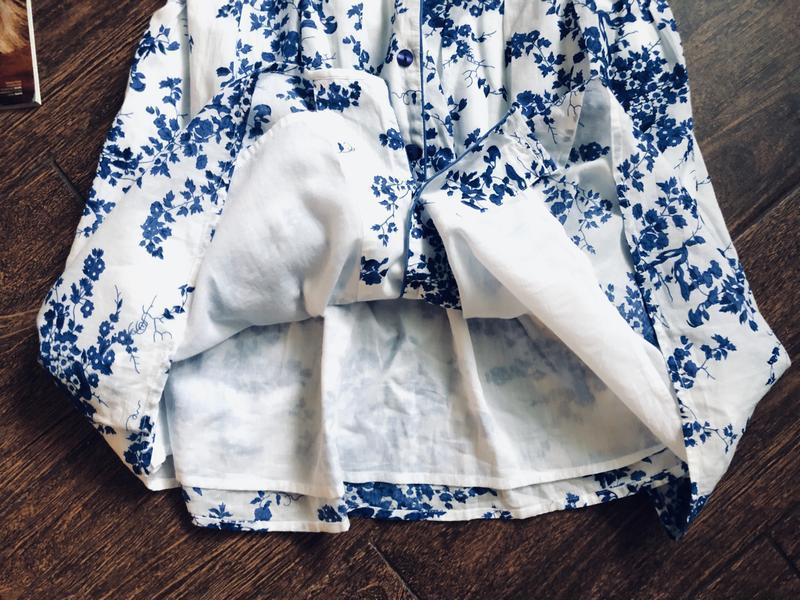 Очень красивое натуральное летнее платье большого размера - Фото 9