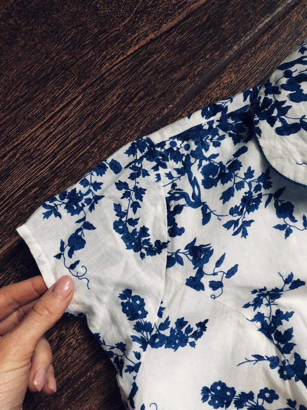 Очень красивое натуральное летнее платье большого размера - Фото 10