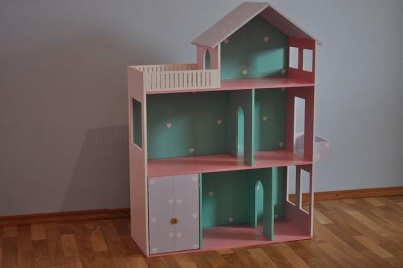 Дом для кукол барби Детская мебель Шкаф Кукольный домик - Фото 5