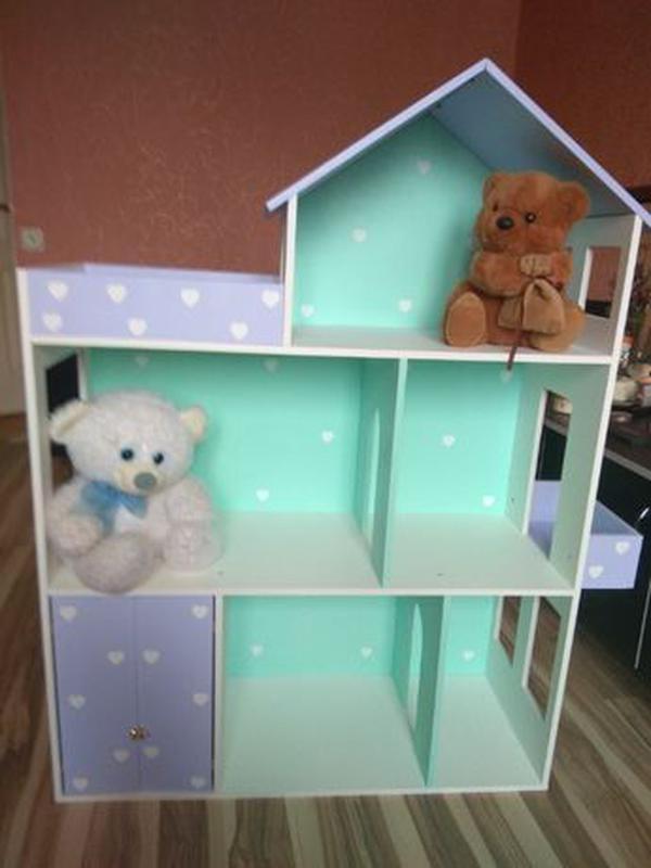 Дом для кукол барби Детская мебель Шкаф Кукольный домик - Фото 7