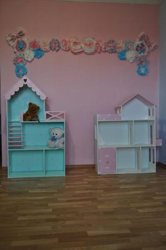Дом для кукол барби Детская мебель Шкаф Кукольный домик - Фото 2