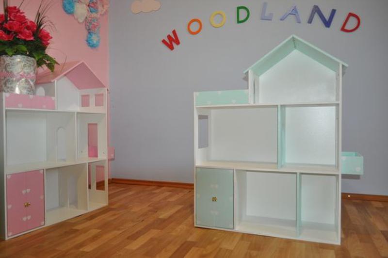 Дом для кукол барби Детская мебель Шкаф Кукольный домик - Фото 3