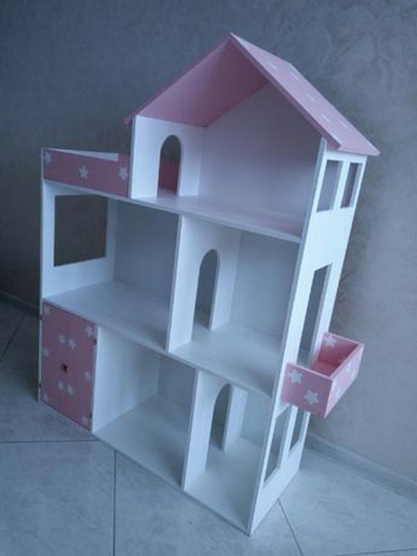 Дом для кукол барби Детская мебель Шкаф Кукольный домик - Фото 6