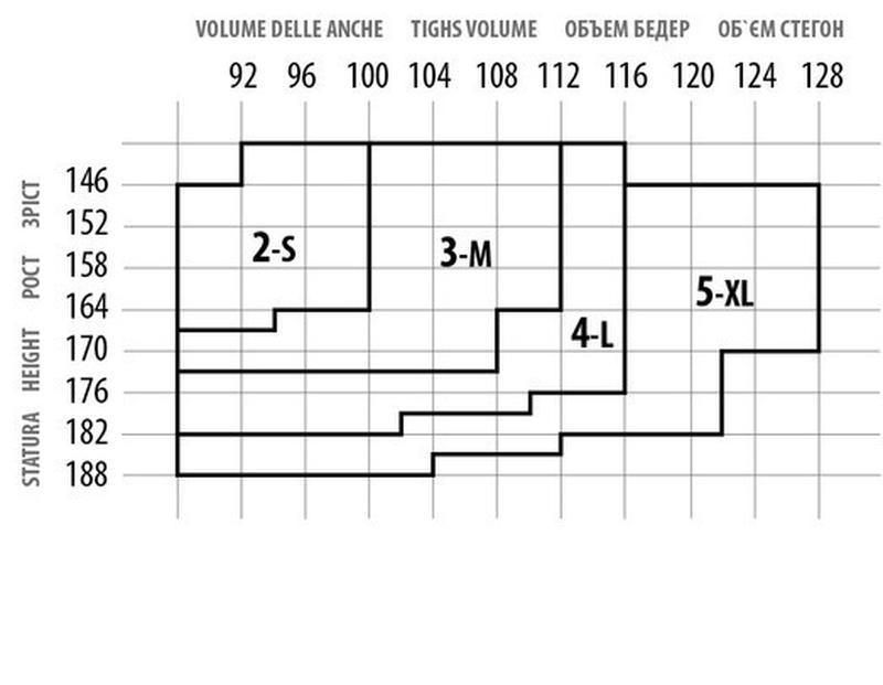Колготки колготы плотные 100 ден рисунком узором giulia / розм... - Фото 3