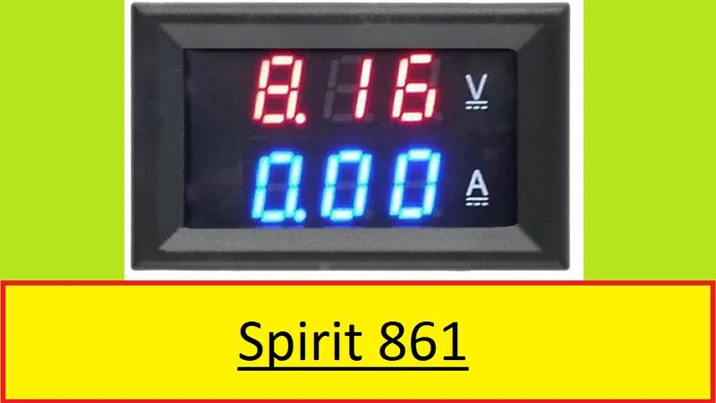 Цифровой Вольтметр Амперметр 0 - 99.9V / 0 - 9.99A блок питания з