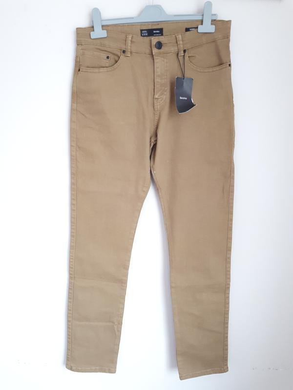 Джинсы, брюки bershka skinny fit 38(m), 40(l) размер - Фото 3