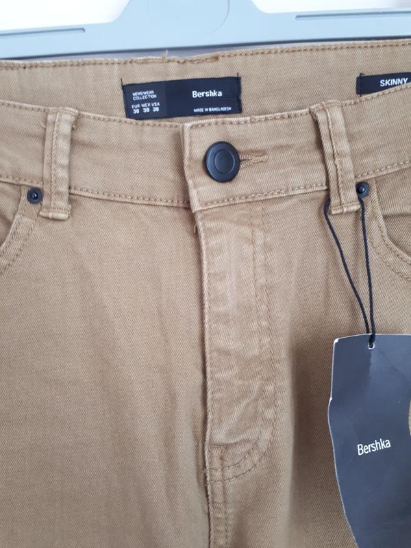 Джинсы, брюки bershka skinny fit 38(m), 40(l) размер - Фото 4