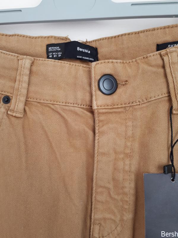 Джинсы, брюки bershka skinny fit 38(m), 40(l) размер - Фото 5