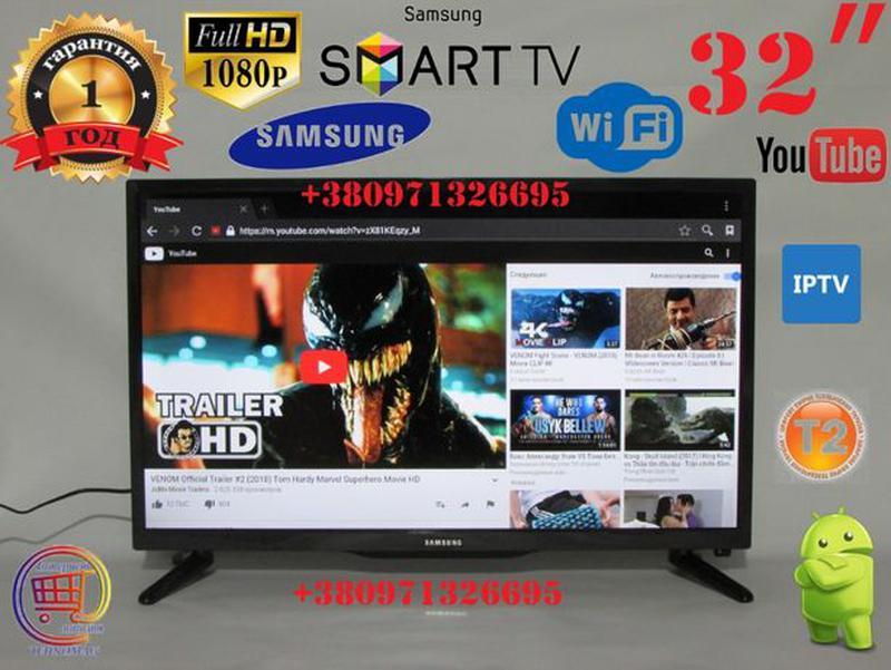 """Led Телевизор Samsung L34S 32"""" дюйма Smart TV, FULL HD, WiFi, T2"""