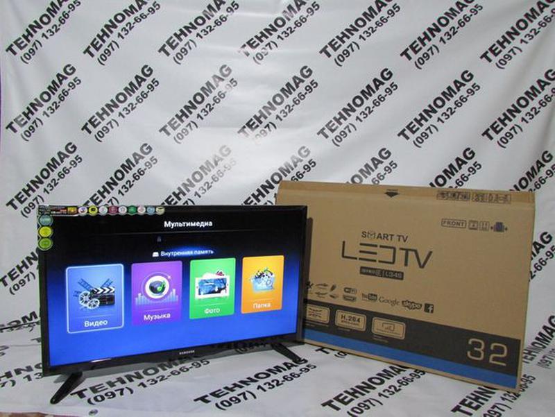 """Led Телевизор Samsung L34S 32"""" дюйма Smart TV, FULL HD, WiFi, T2 - Фото 2"""