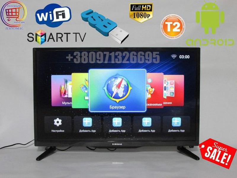 "Новый LED Телевизор Samsung 32"",L34 6SERIES, Smart TV, Wi-Fi"
