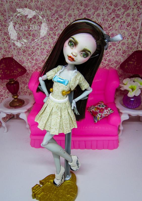 Лагуна Блю кукла Монстер Хай Ооак - Фото 6