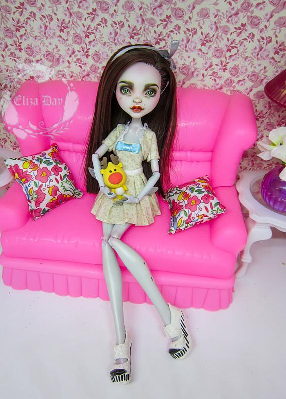 Лагуна Блю кукла Монстер Хай Ооак - Фото 9