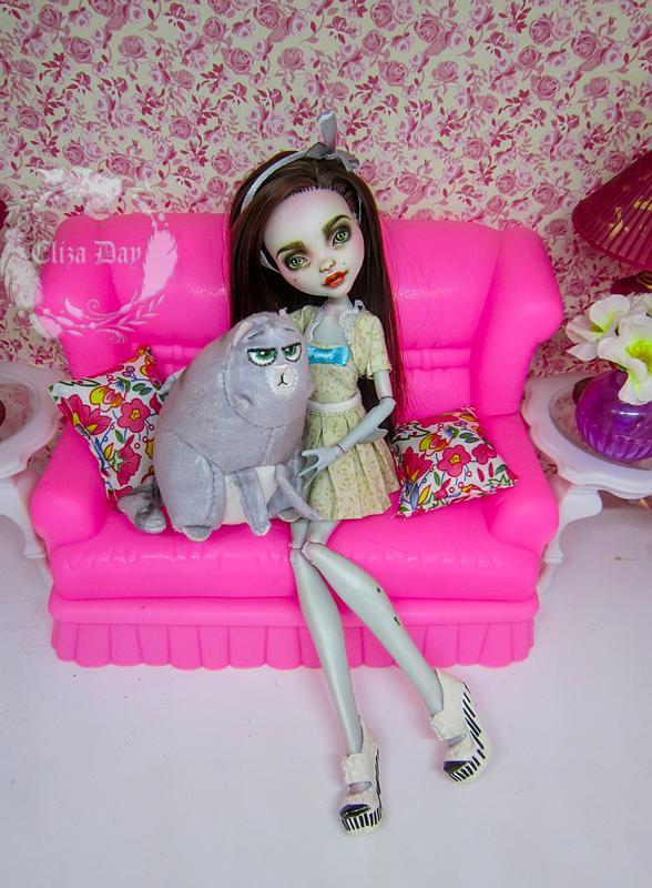 Лагуна Блю кукла Монстер Хай Ооак - Фото 13