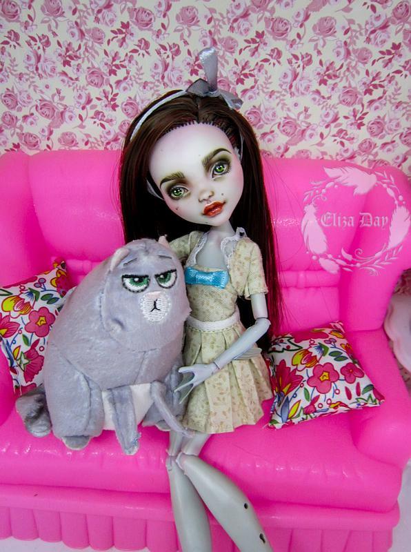 Лагуна Блю кукла Монстер Хай Ооак - Фото 14