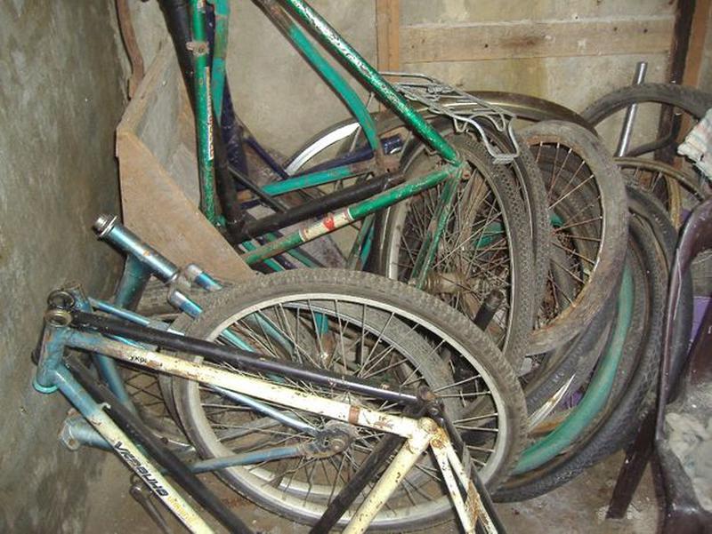 Велосипед Украина/Салют ХВЗ (разборка) остался со времен СССР