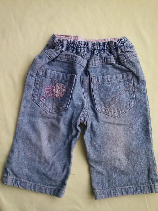 Весёлые джинсы с вышивкой - Фото 2
