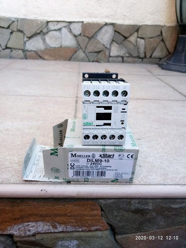 Контактор Moeller DILM9-10 (24VDC)