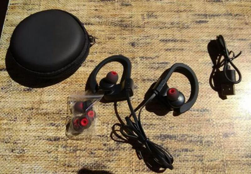 Водонепроницаемые Беспроводные Bluetooth наушники IPX7. Блютуз - Фото 3