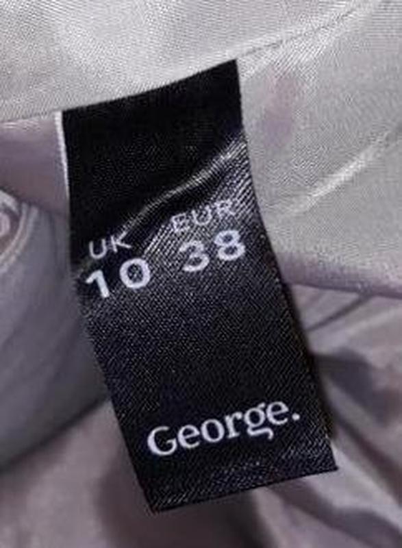 🎁1+1=3 базовое женское бежевое пальто под кашемировое george, ... - Фото 2