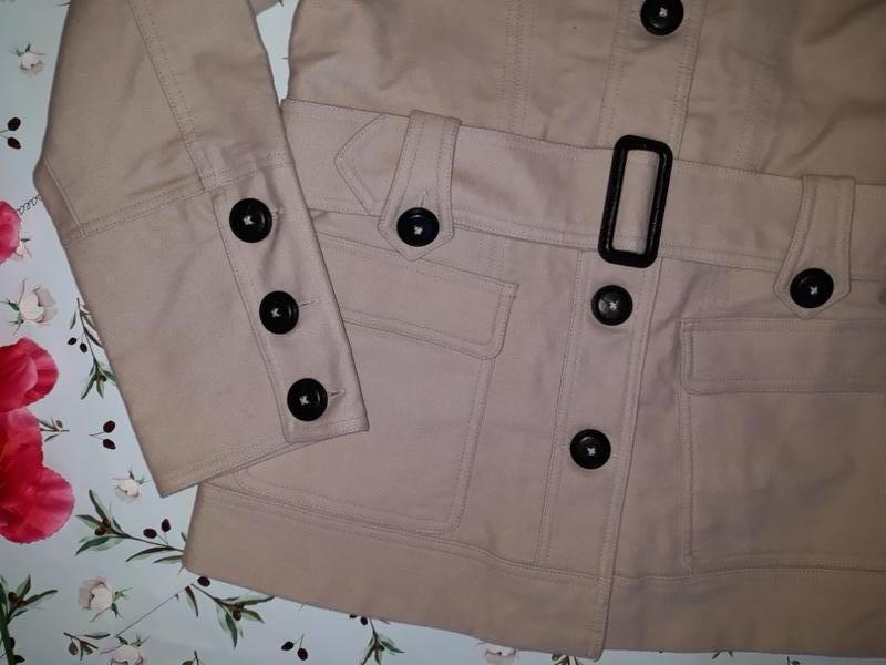 🎁1+1=3 базовое женское бежевое пальто под кашемировое george, ... - Фото 3