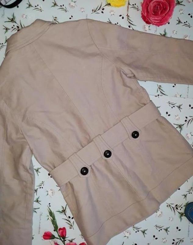 🎁1+1=3 базовое женское бежевое пальто под кашемировое george, ... - Фото 5