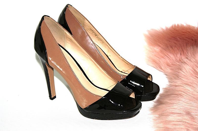 Босоножки новые сток квадратный носок шпильки высокий каблук g...