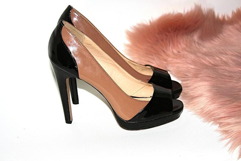 Босоножки новые сток квадратный носок шпильки высокий каблук g... - Фото 2
