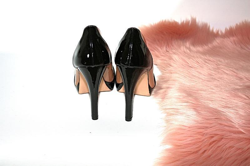 Босоножки новые сток квадратный носок шпильки высокий каблук g... - Фото 3