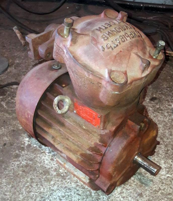 Электродвигатель взрывозащищенный АИМ 90 1,5 кВт/3000 об.