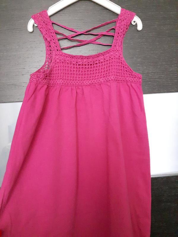 Розовое платье. - Фото 4