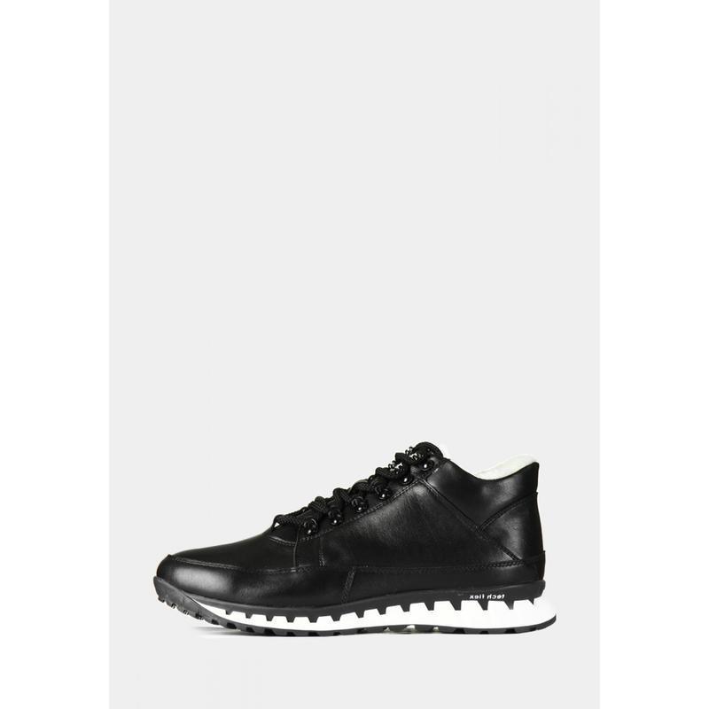 Кожаные зимние мужские ботинки - Фото 7