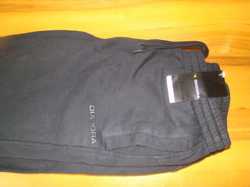 Спортивные брюки diadora pant fleece cuffed 160108-80013 - Фото 2
