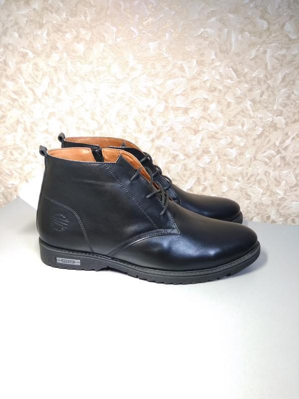 Классические зимние ботинки - натуральная кожа! - Фото 2