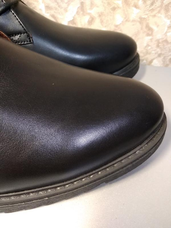 Классические зимние ботинки - натуральная кожа! - Фото 3