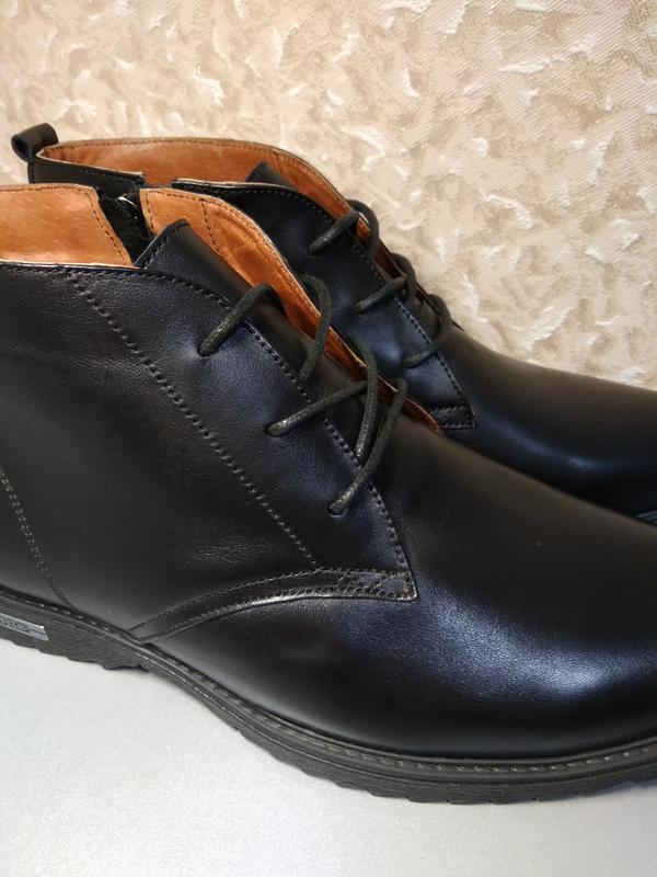 Классические зимние ботинки - натуральная кожа! - Фото 4