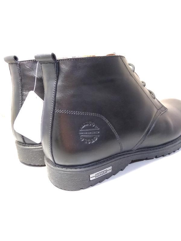 Классические зимние ботинки - натуральная кожа! - Фото 5