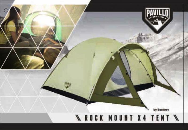 Четырехместная палатка Bestway Rock Mount 68014 - Фото 4