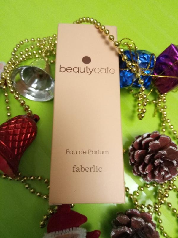 Парфюмерная вода beauty cafe.faberlic