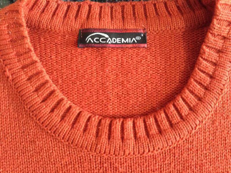 Комплект: свитер + шарф 80% шерсть - Фото 4