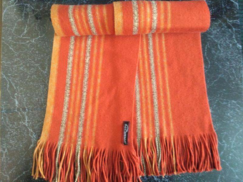 Комплект: свитер + шарф 80% шерсть - Фото 5