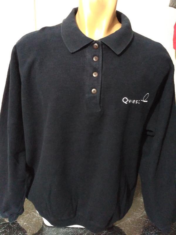 Мужской свитер, свитшот поло размер l
