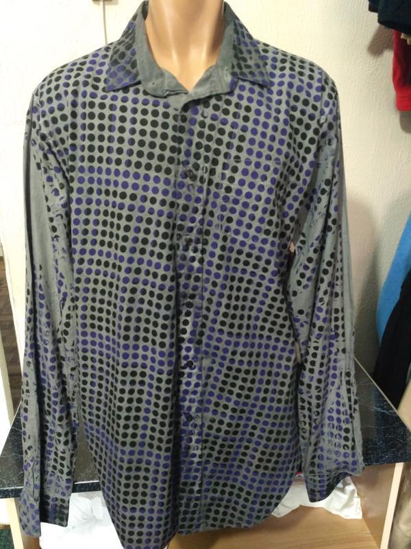 Распродажа рубашек! рубашка на высокого мужчину - Фото 2