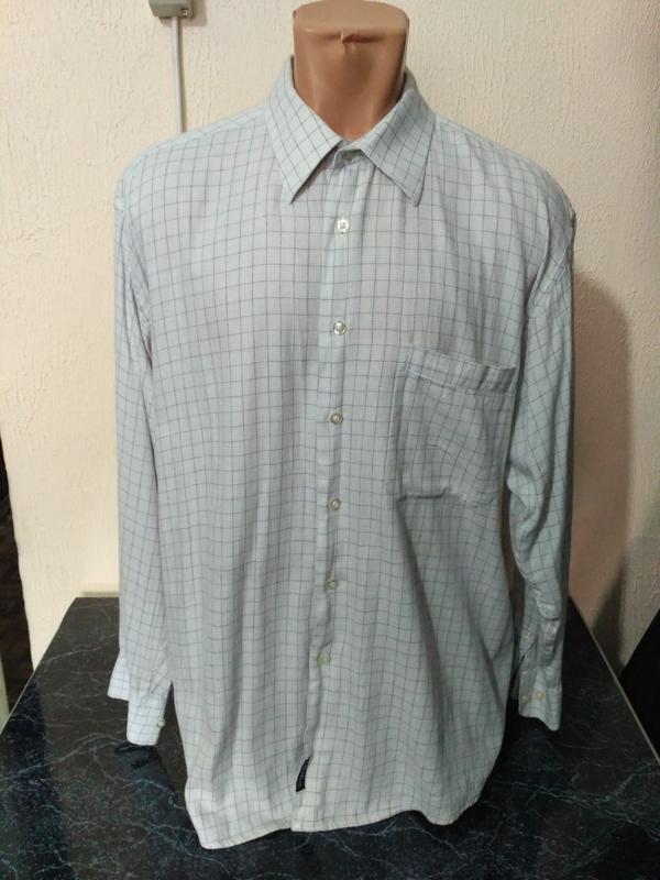 Распродажа рубашек! рубашка в клетку с длинным рукавом - Фото 2