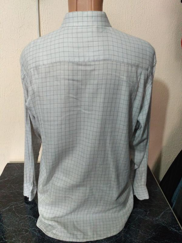 Распродажа рубашек! рубашка в клетку с длинным рукавом - Фото 3