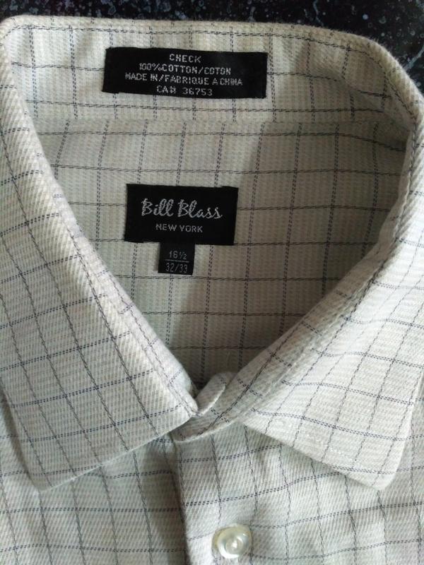 Распродажа рубашек! рубашка в клетку с длинным рукавом - Фото 4