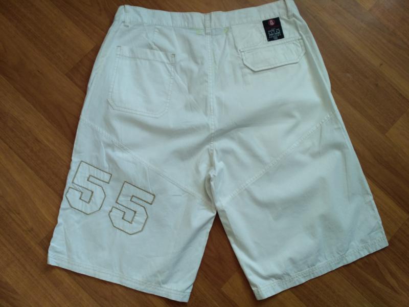 Белые коттоновые шорты размер xl - Фото 2