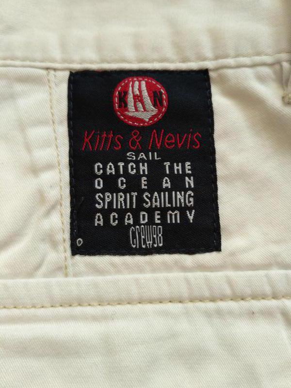 Белые коттоновые шорты размер xl - Фото 3